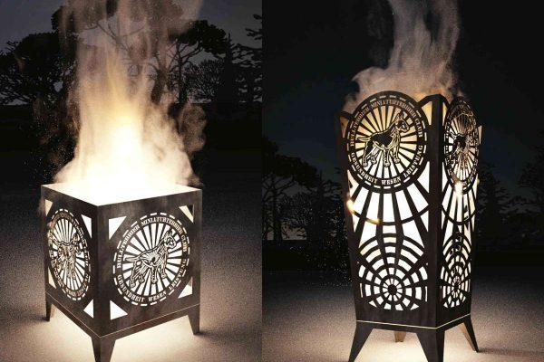 3D Produktvisualisierung: Fotorealisitsches Rendering mit Feuer beide Varianten